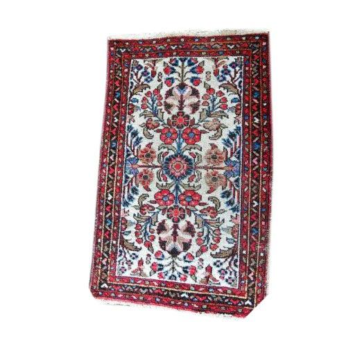 "Vintage Persian Bohemian Rug - 1'10"" x 3'1"" - Image 1 of 6"