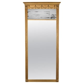 American Federal Gilded Pier Mirror For Sale