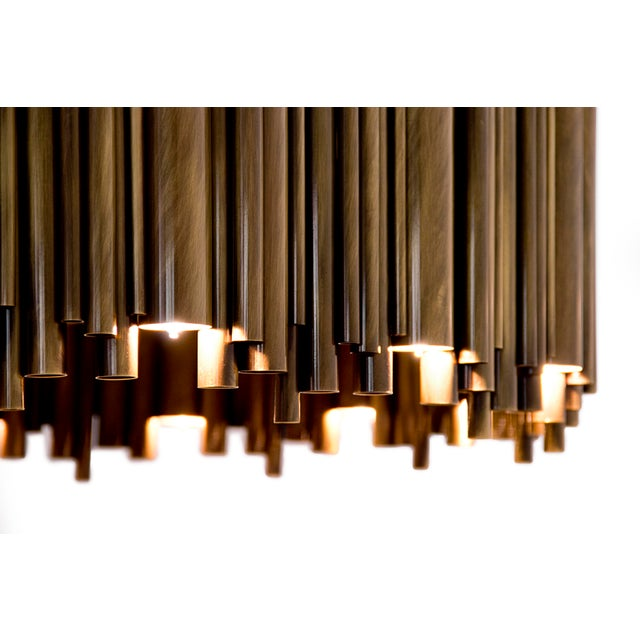 Brubeck Oval Chandelier From Covet Paris For Sale - Image 10 of 11