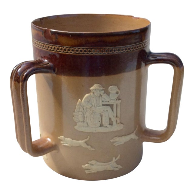Antique Royal Doulton Tankard For Sale