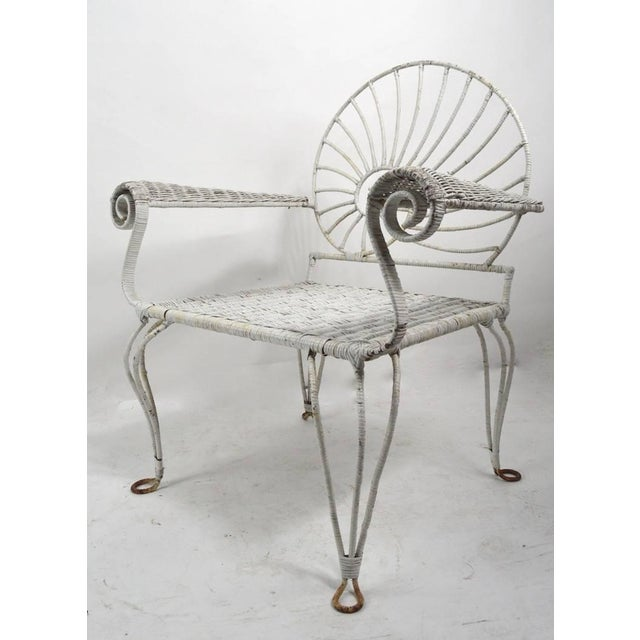 Nautilus Shell Back Arm Lounge Chair For Sale - Image 11 of 12