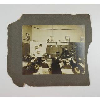 Circa 1900 School Room Art Class Photograph Preview