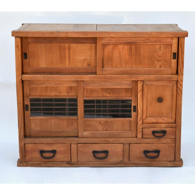 Antique Japanese Choba Tansu For Sale In Los Angeles - Image 6 of 6