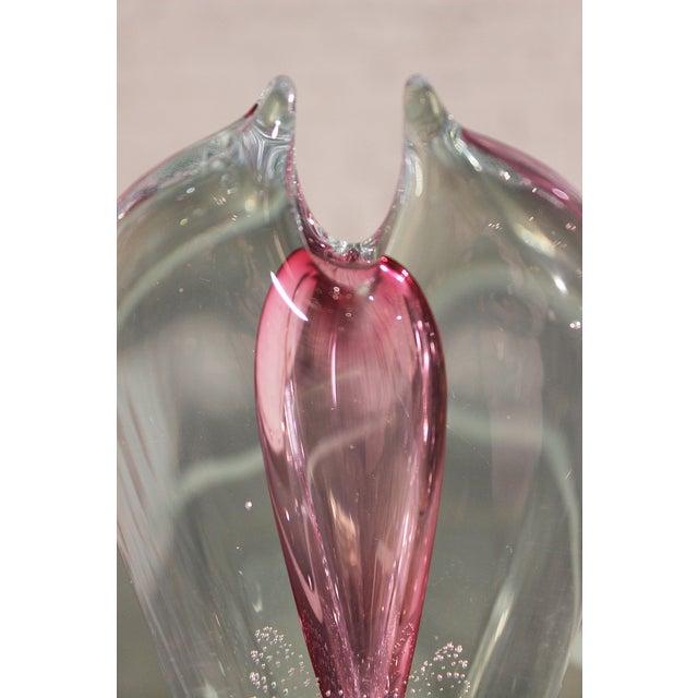 Pavel Juda Czech Art Glass Vase - Image 3 of 10