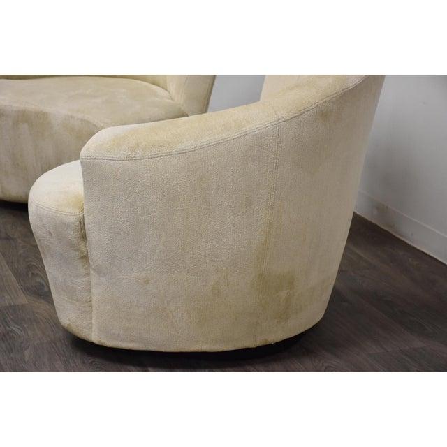 Vladimir Kagan Vladimir Kagan Bilbao Lounge Chairs- a Pair For Sale - Image 4 of 8
