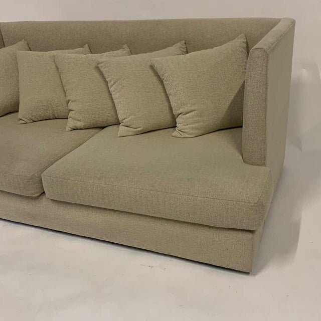 Early 21st Century Milo Baughman Shelter Sofa - Excellent For Sale - Image 5 of 11