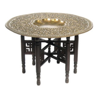19th Century Moroccan Tray Table For Sale