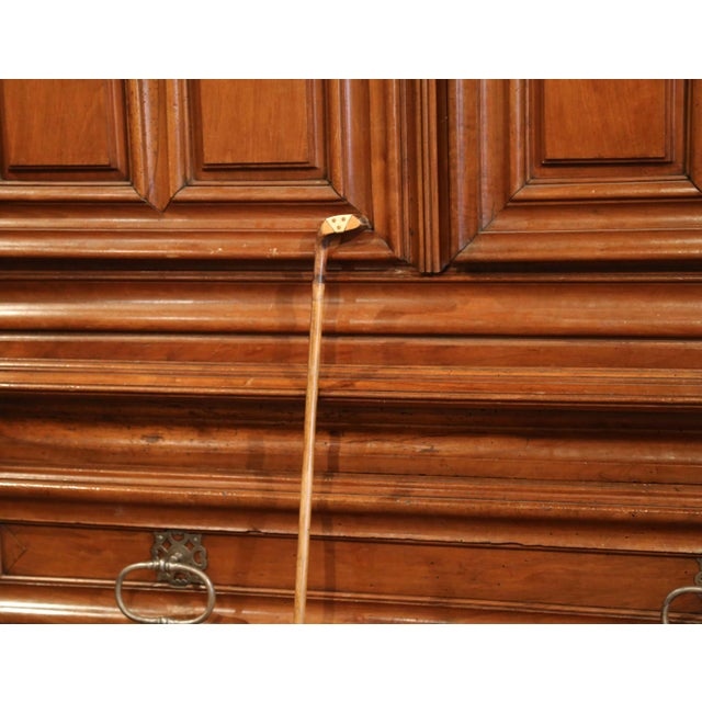 "Early 20th Century Early 20th Century English Wooden Golf Club Walking Stick or ""Sunday Cane"" For Sale - Image 5 of 10"