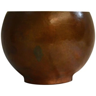 Harrison Hand-Wrought Copper Finish Vessel, 1948 For Sale