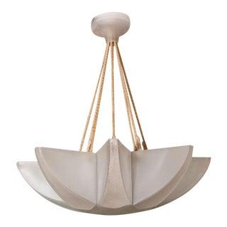 """Rene Lalique Art Deco Chandelier """"Acacia"""" For Sale"""