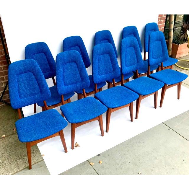 1960s Scandinavian Modern Sorheim Bruk Teak Dining Chairs - Set of 10 For Sale - Image 13 of 13