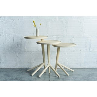 White Ash Tripod Nesting End Tables - Set of 3 Preview