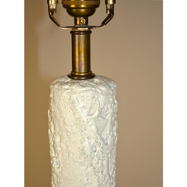 Early 20th Century Mid-Century Modern Plaster Lamp For Sale - Image 5 of 8