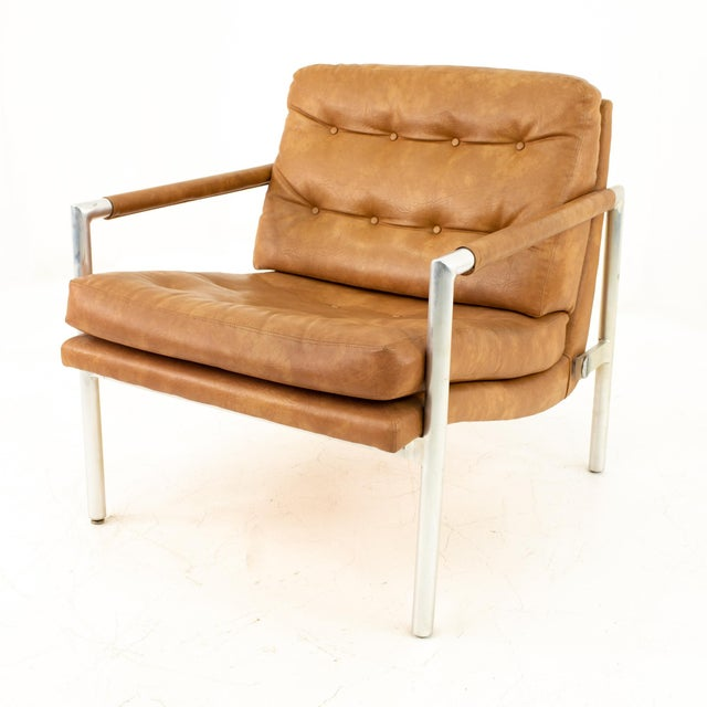 Jack Cartwright for Founders Mid Century Lounge Chairs - Pair For Sale - Image 9 of 11
