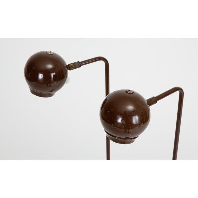 George Kovacs Single Eyeball Floor Lamp by Robert Sonneman for George Kovacs For Sale - Image 4 of 10