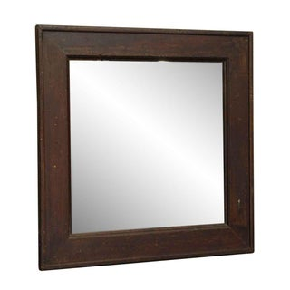 Salvaged Wood Framed Mirror Preview