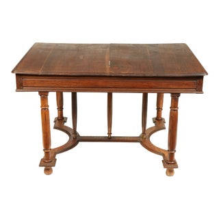 Antique Edwardian-Style Library or Dining Table