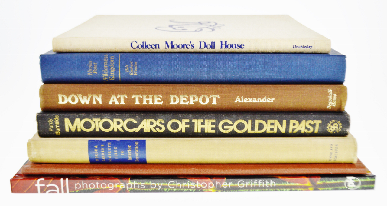 Vintage History Art and Design Coffee Table Books Set of 7 Chairish
