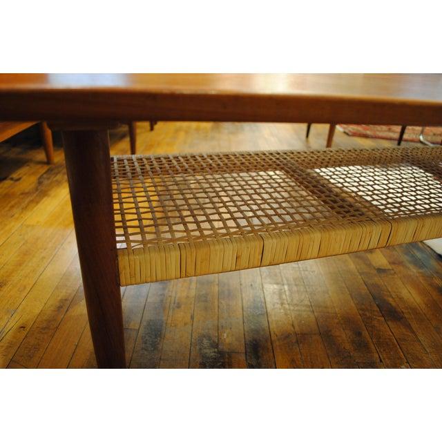 Circa 1960s Danish Modern Teak Coffee Table - Image 6 of 7