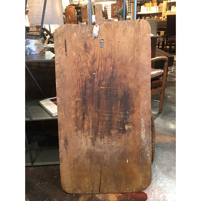 Antique Rustic Bread Board For Sale - Image 9 of 11