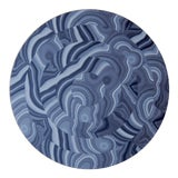 Image of Malachite Placemat in Blue For Sale