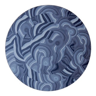 Malachite Placemat in Blue For Sale