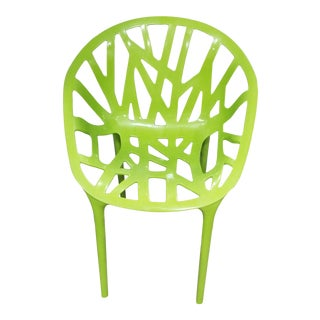 Green Openwork Poly Chair For Sale