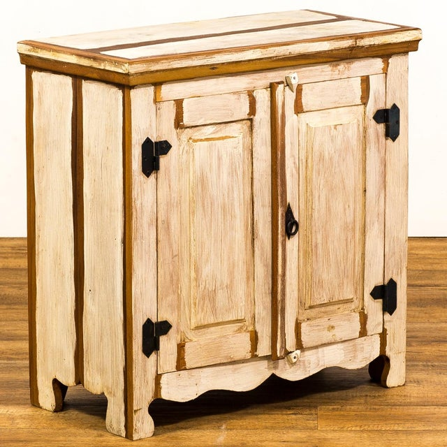 Reclaimed Wood Cabinet For Sale - Image 4 of 8