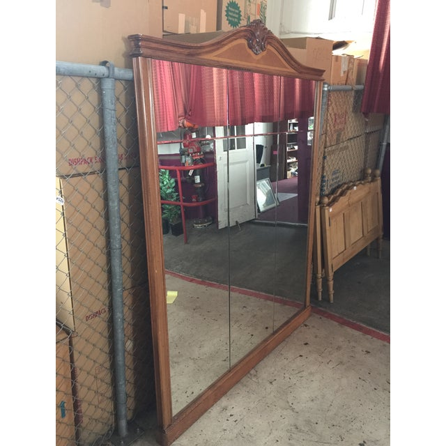 Large Loius XVI French Pier Mirror For Sale - Image 4 of 13