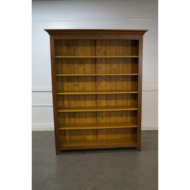 Hand Crafted Shaker Sassafras Wood Bookcase - Image 6 of 10