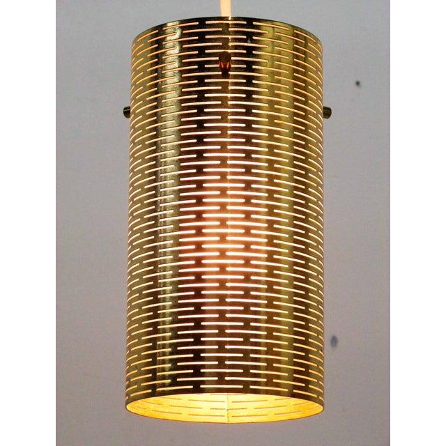 Pierced Pendant Lights by Lightolier - Set of 3 - Image 4 of 10