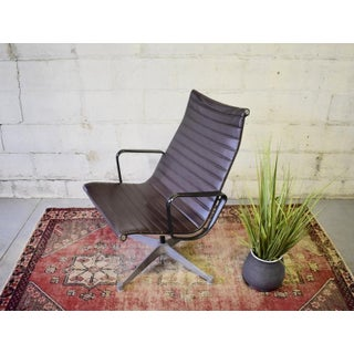 Mid Century Modern Vintage Herman Miller Aluminum Group Lounge Chair Preview