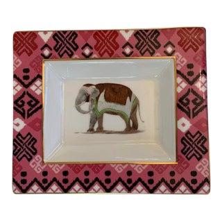 Elephant Porcelain Change/Trinket Dish For Sale