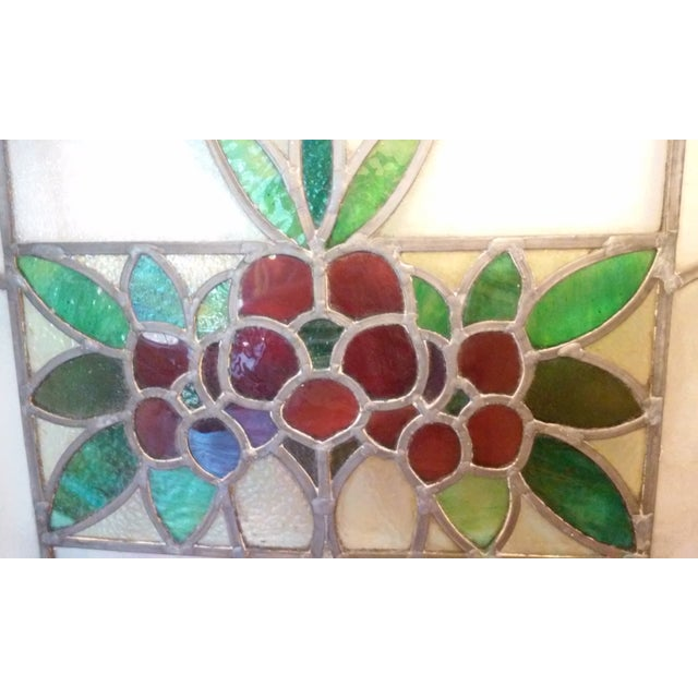 Vintage Stained Glass Window - Image 3 of 6