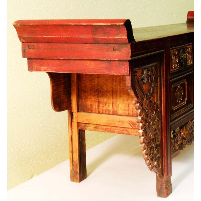 Antique Chinese Petit Altar, 1800-1849 - Image 6 of 7