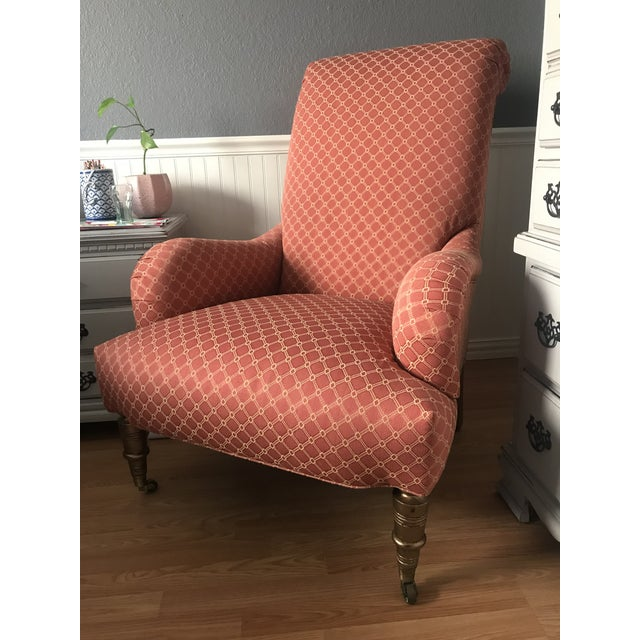 English Roll Arm Empire Chair For Sale - Image 9 of 9