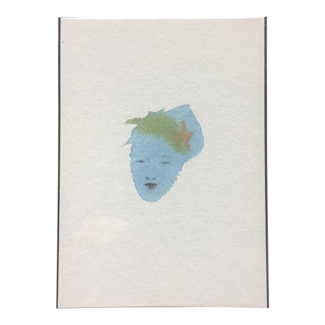 Flower Hair Portrait Painting - Image 1 of 4