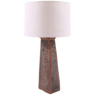 Sculptural Studio Large Ceramic Table Lamp