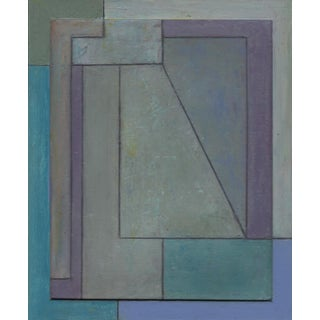 FrameWorks Study 38—Geometric Abstract Oil Painting For Sale