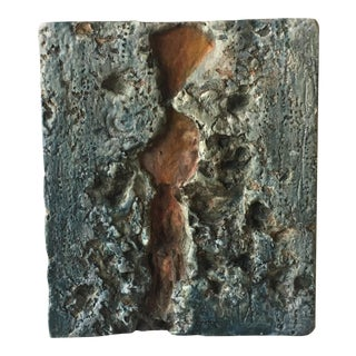 Textural Ceramic Wall Art For Sale