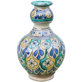Moroccan Ceramic Vase For Sale