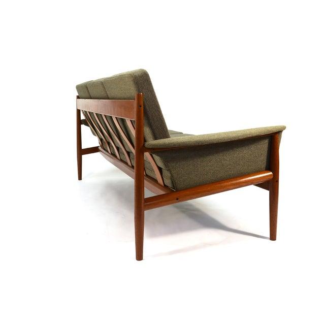 Grete Jalk Sculpted Teak Sofa - Image 4 of 6