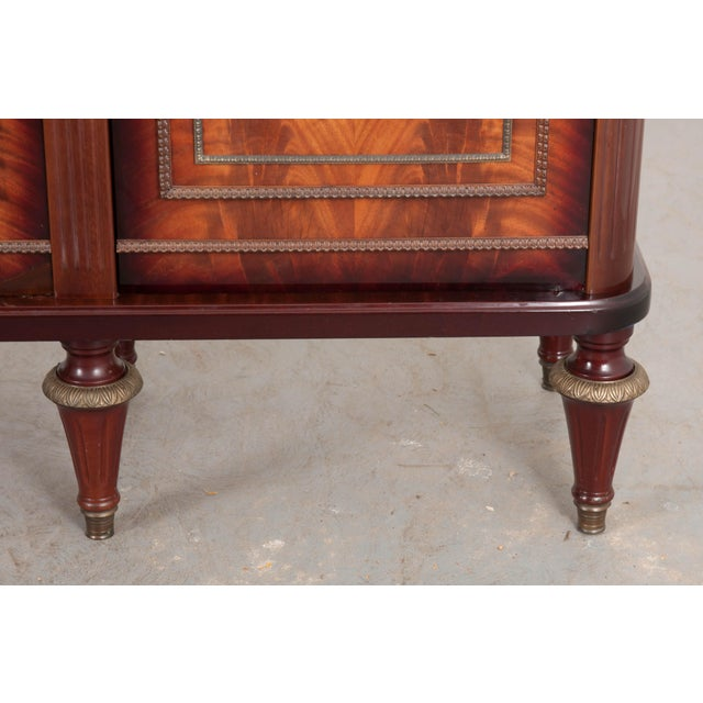 White French Vintage Louis XVI-Style Enfilade For Sale - Image 8 of 12