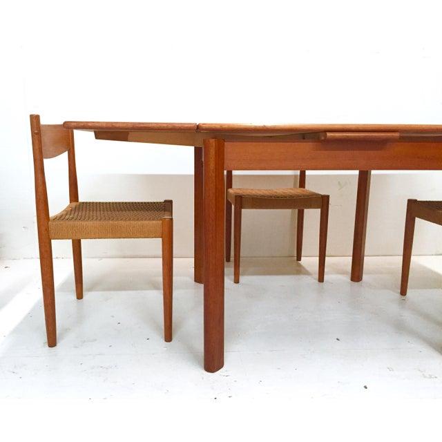 1960s Danish Mid-Century Modern Teak Dining Set - Image 8 of 11