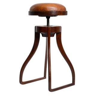 Danish Drafting Stool For Sale