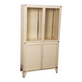 Iron Medical Cabinet by Kovona For Sale
