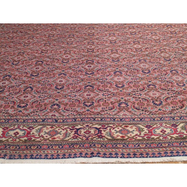 Early 20th Century Pink Kayseri Carpet For Sale - Image 5 of 6