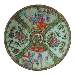 19th Century Chinese Export Celadon Charger Plate For Sale