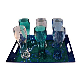 Seven-Piece Outdoor Beer Serving Set