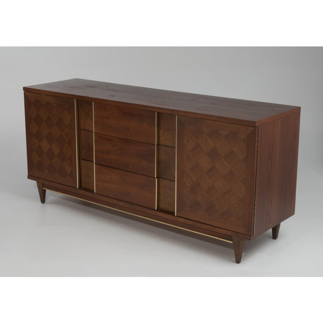"A wonderfully well made Mid-Century dresser by Witz furniture, ""the Basic Line"". It has everything going for it, book..."
